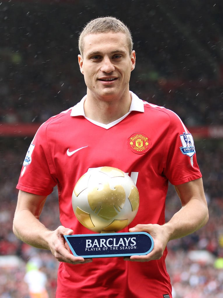 Nemanja Vidic Serbian Sports Persons (Football Player)
