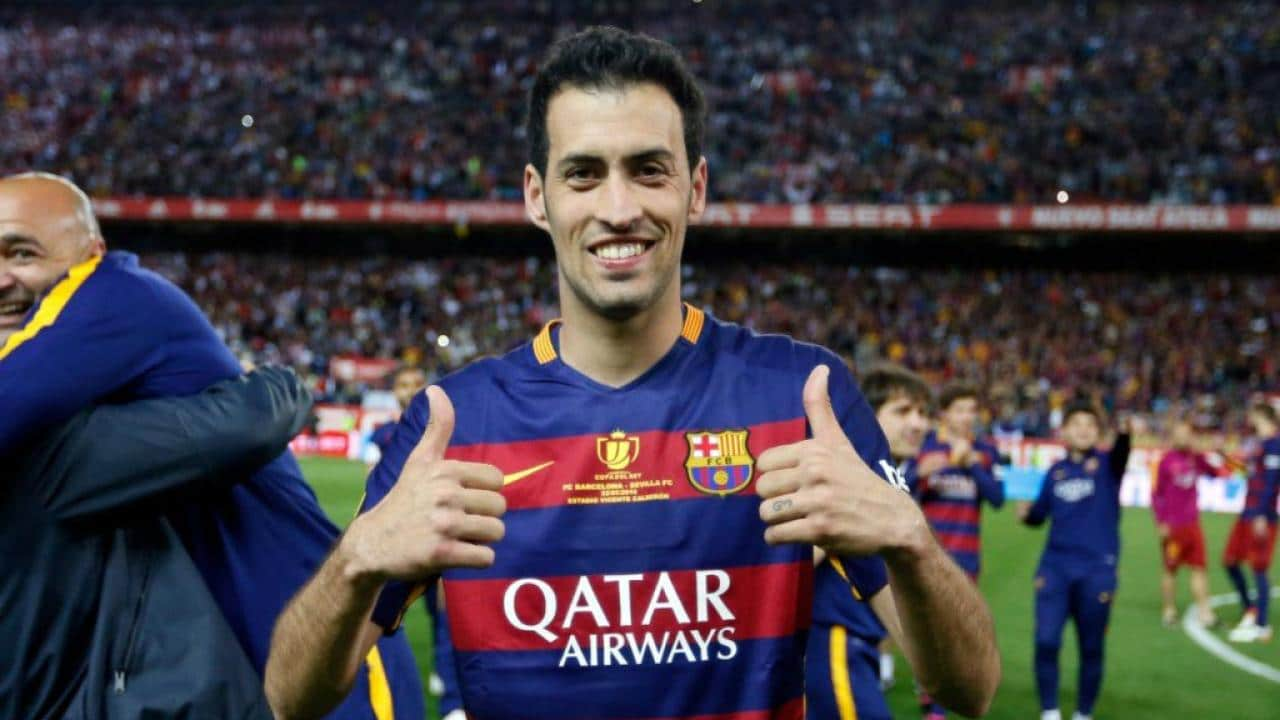Sergio Busquets Spain Soccer Player