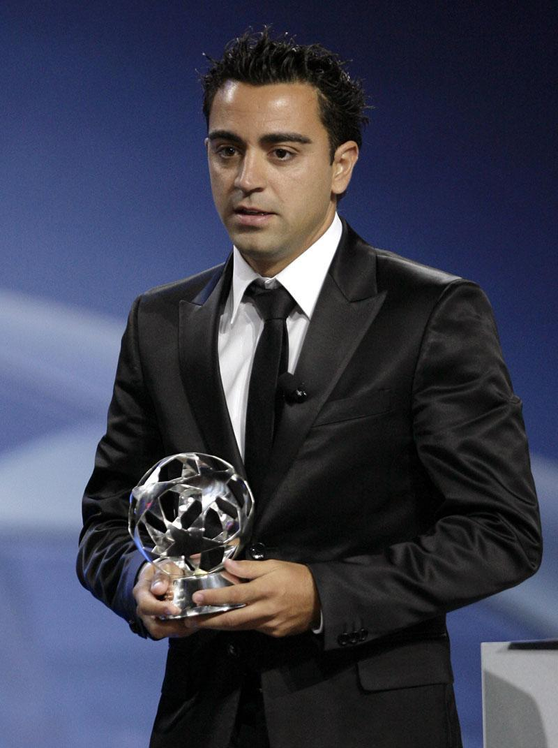 Xavi Spain Professional Soccer Player