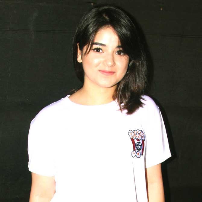 Zaira Wasim two