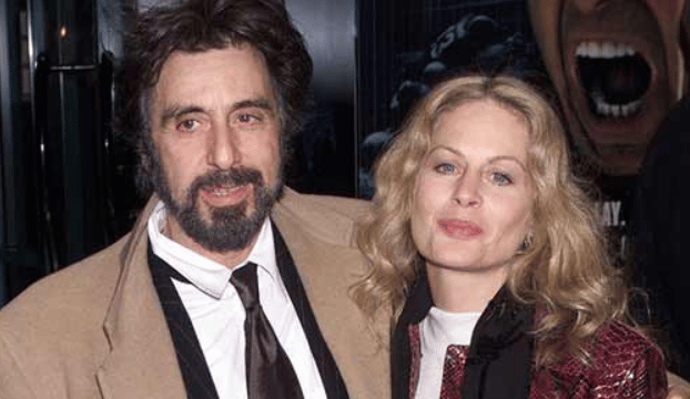 al pacino with beverly dangelo