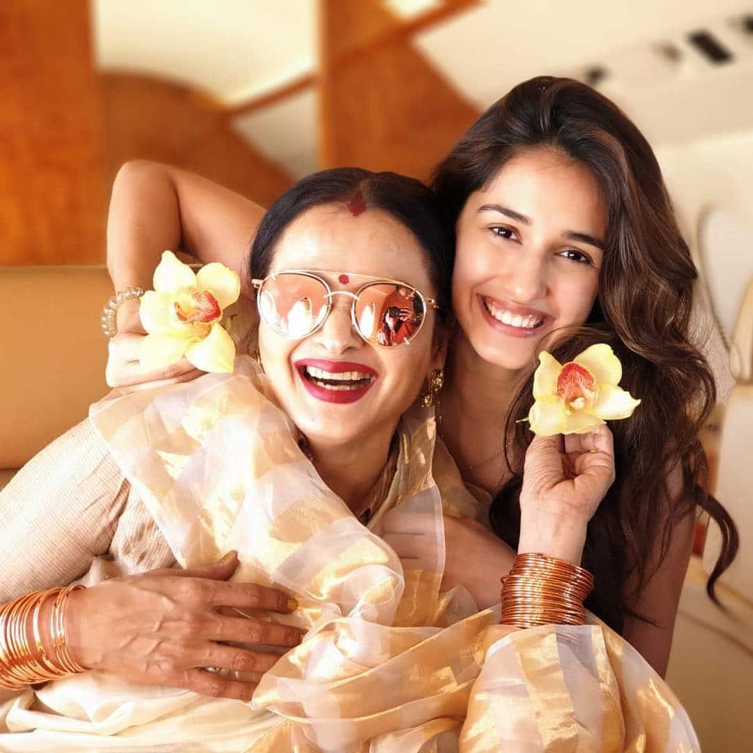 disha patani with rekha