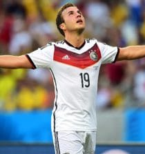 Mario Gotze Professional Soccer Player