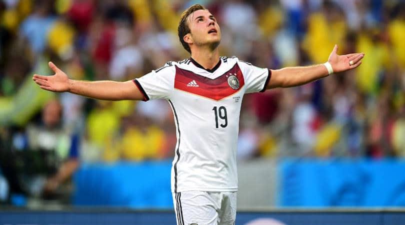 Mario Gotze Germen Professional Soccer Player