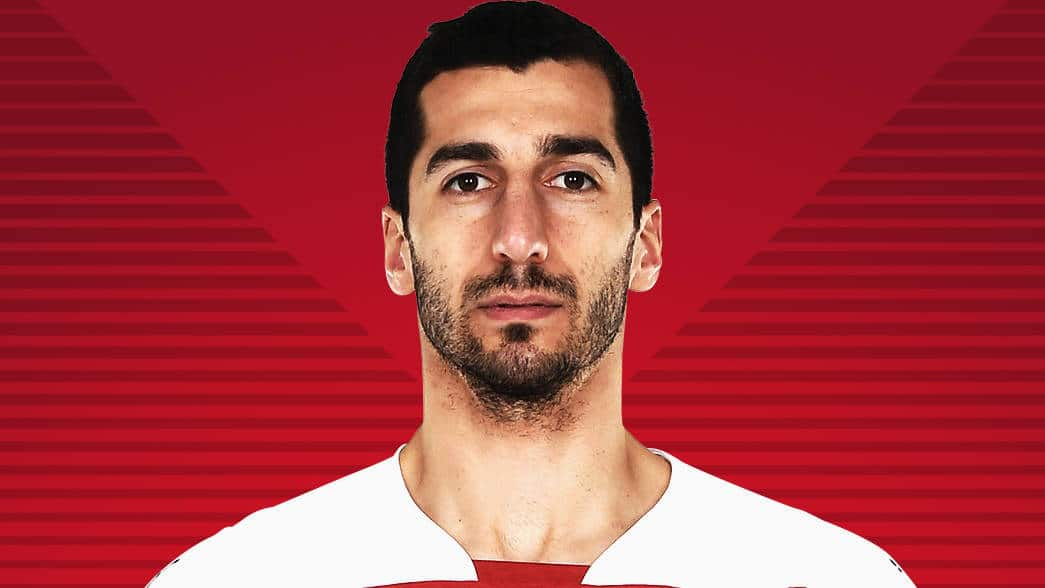 Henrikh Mkhitaryan Armenian Football Player