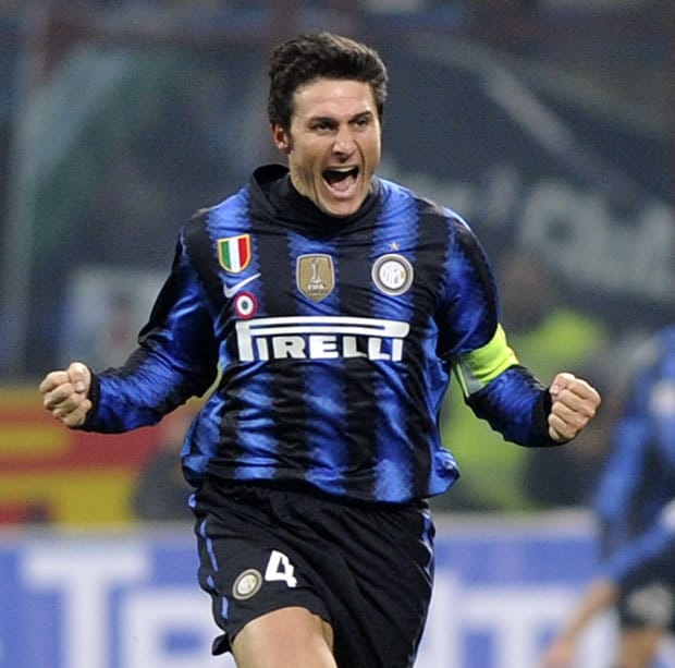 Javier Zanetti Football Player