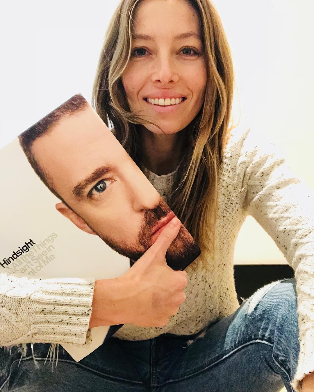 jessica biel with Justin Timberlake cover book