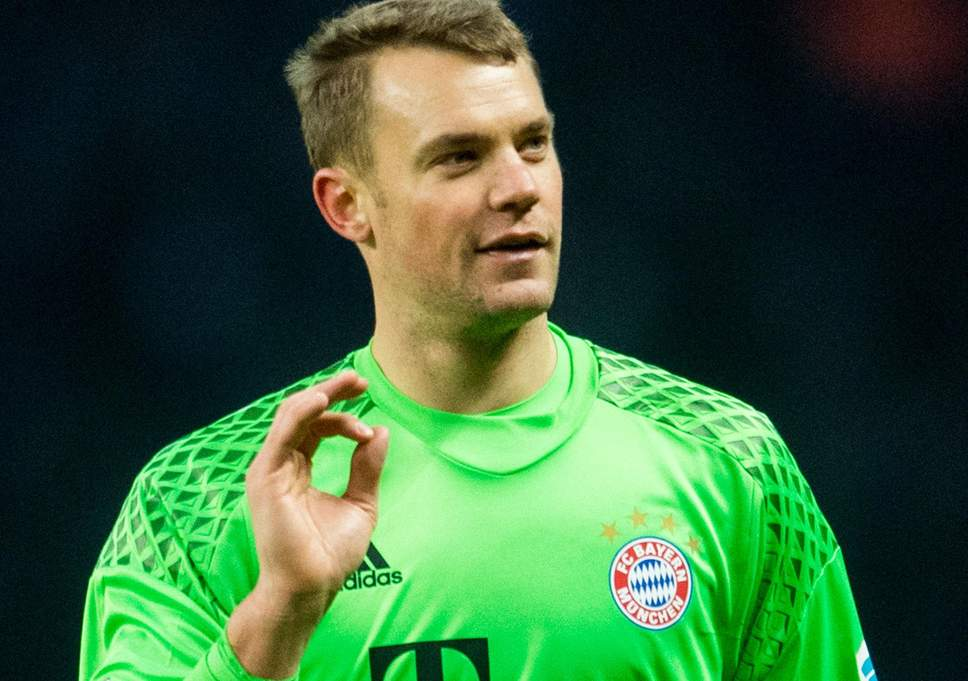 Manuel Peter Neuer German, West German Soccer Football player
