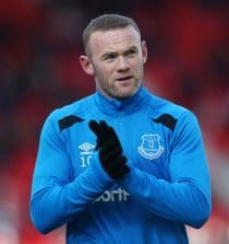 Wayne Mark Rooney Professional Soccer Player
