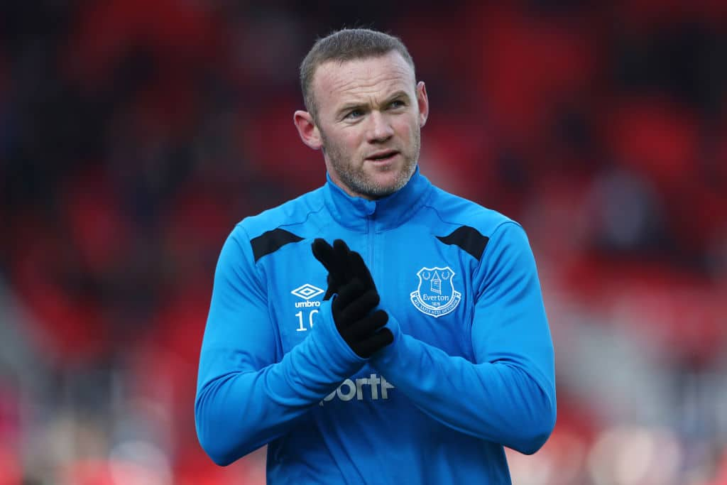Wayne Mark Rooney England Professional Soccer Player