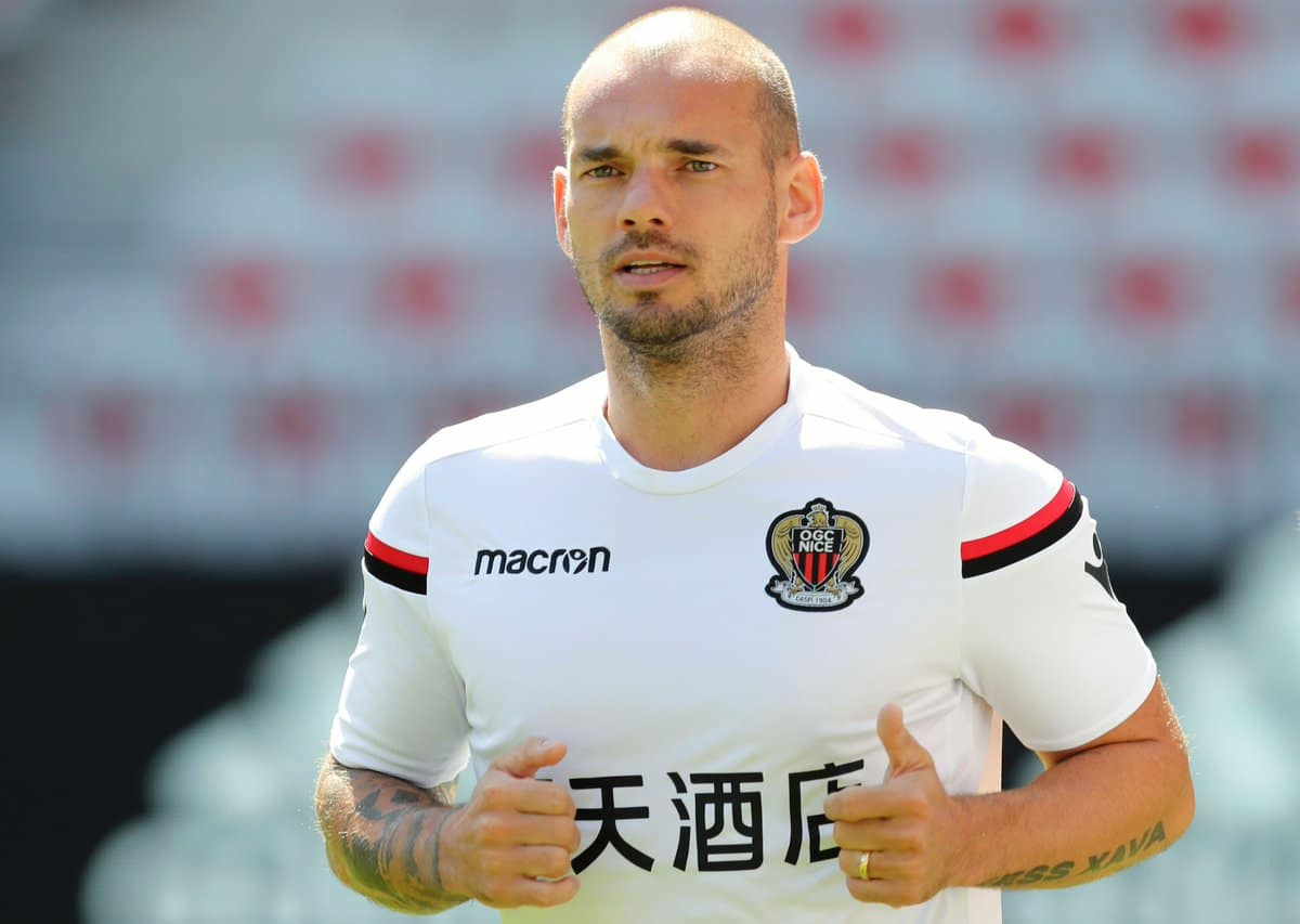 Wesley Sneijder Football Player
