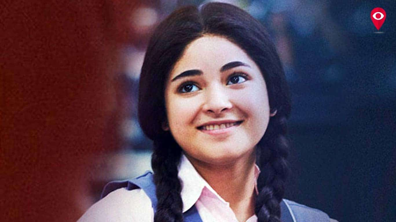 Zaira Wasim Indian Actress