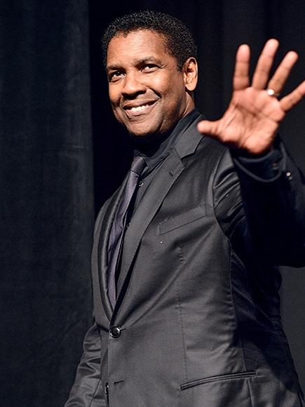 Denzel Washington black suit