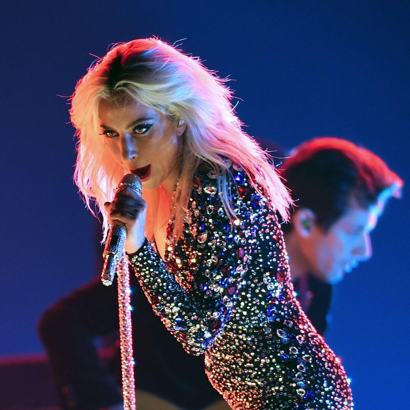 Lady Gaga stage performance