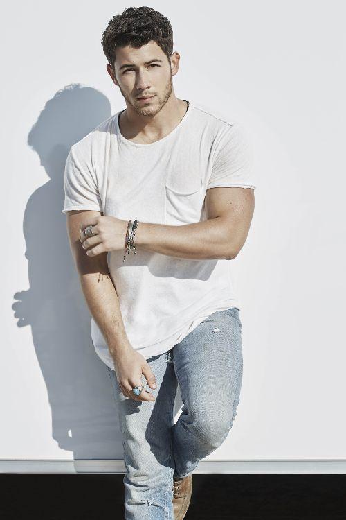 Nick Jonas photoshot