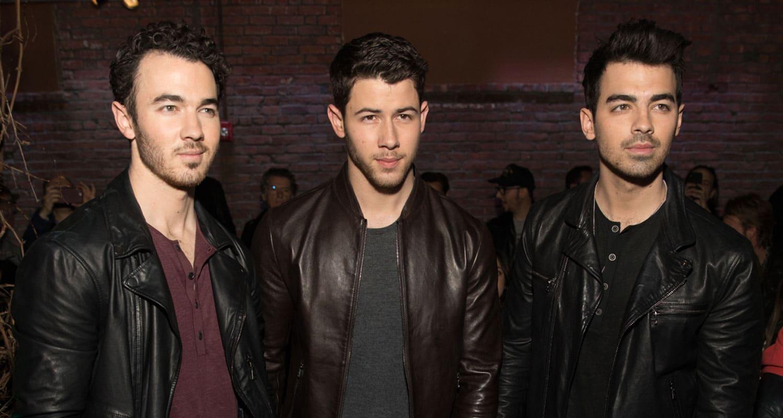 Nick Jonas with brothers