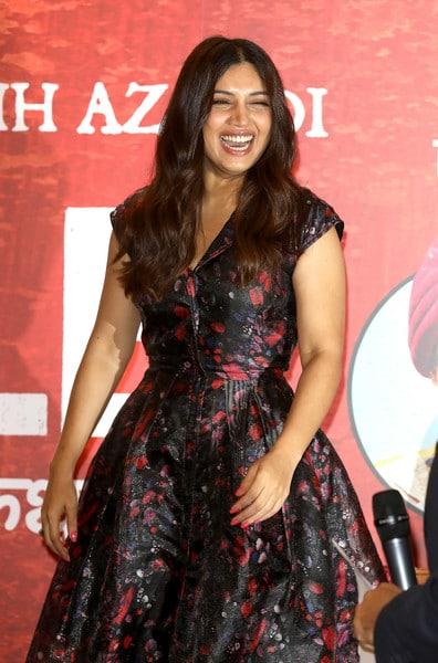 bhumi padnekar laughing
