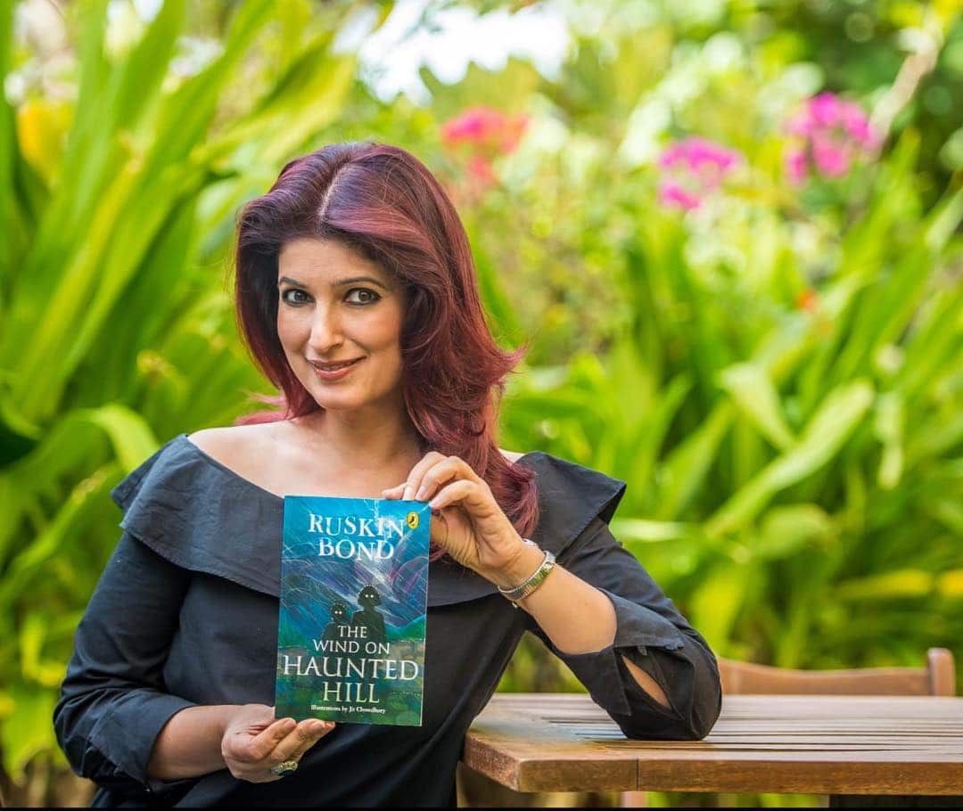 Twinkle Khanna book promotion
