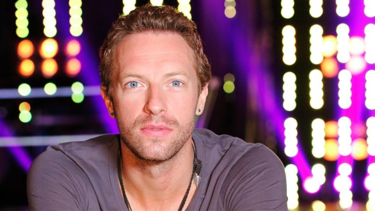 Chris Martin British Singer