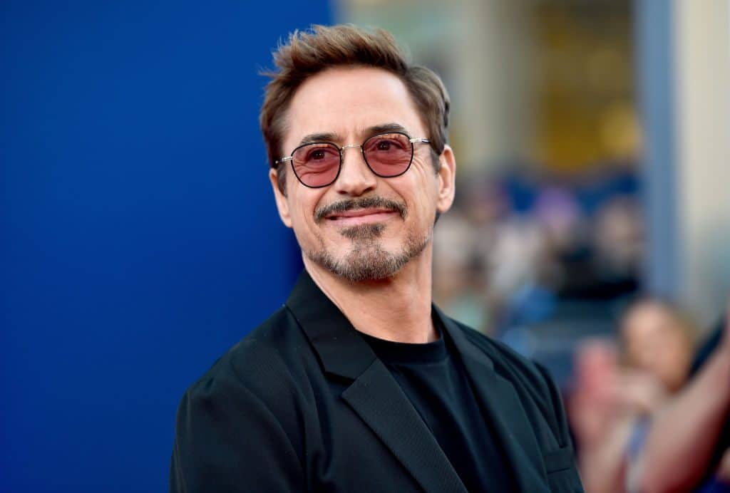 Robert Downey Jr. Smile