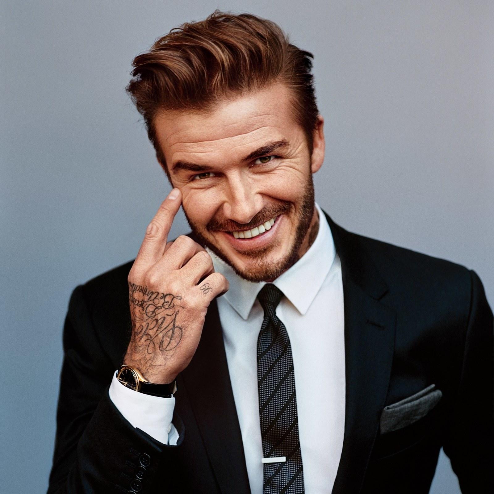 David Beckham British English Former Professional Footballer