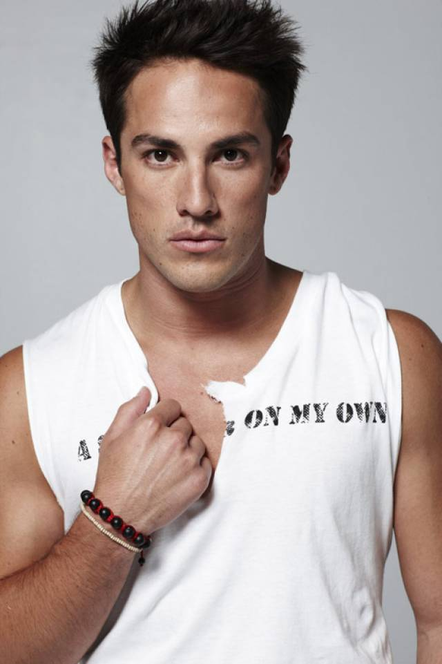 Michael Trevino bench body