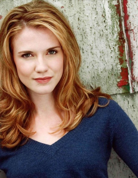 Sara Canning  Canadian Actress