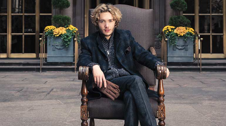 Toby Regbo UK Actor, musician