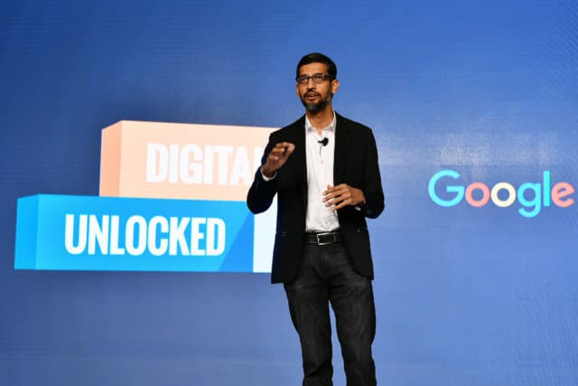 Sundar Pichai Indian CEO of Google