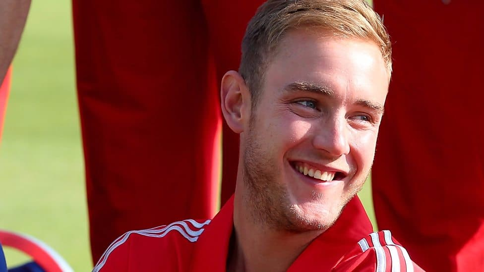Stuart Broad British Cricketer