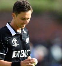 Trent Boult New Zealand Cricketer (Fast Bowler)