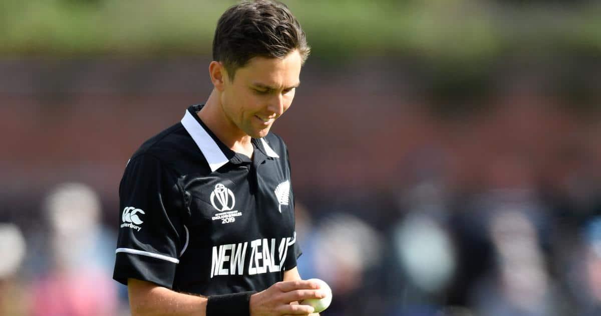 Trent Boult New Zealander New Zealand Cricketer (Fast Bowler)