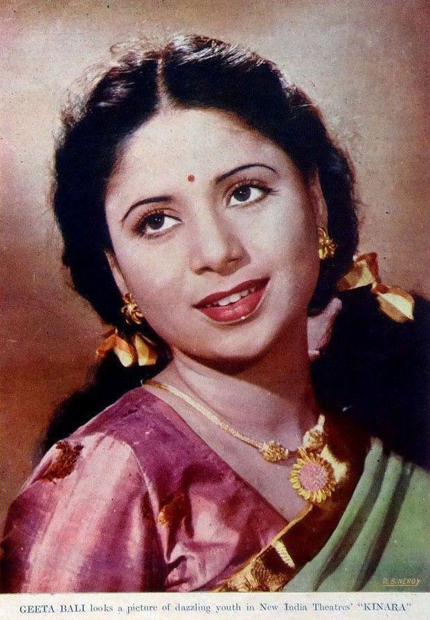 Geeta Bali India Actress and Producer