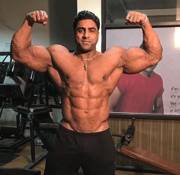 Varinder Singh Ghuman Indian Bodybuilder