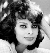 Sophia Loren Film Actress and Singer.