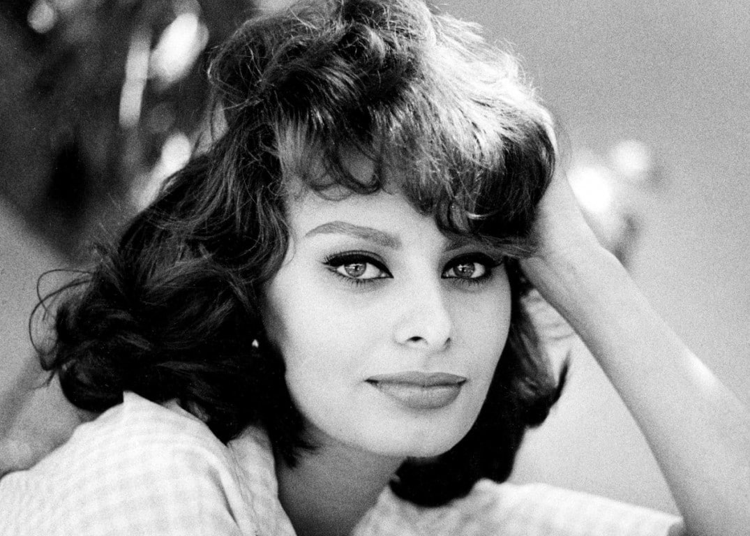 Sophia Loren Italian Film Actress and Singer.