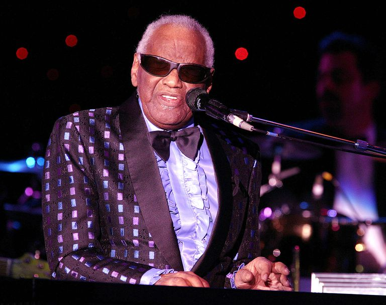 Ray Charles American Singer, Songwriter, Musician and Composer