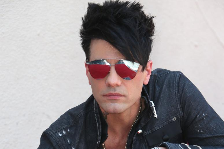 Criss Angel American Magician, Illusionist and Musician.