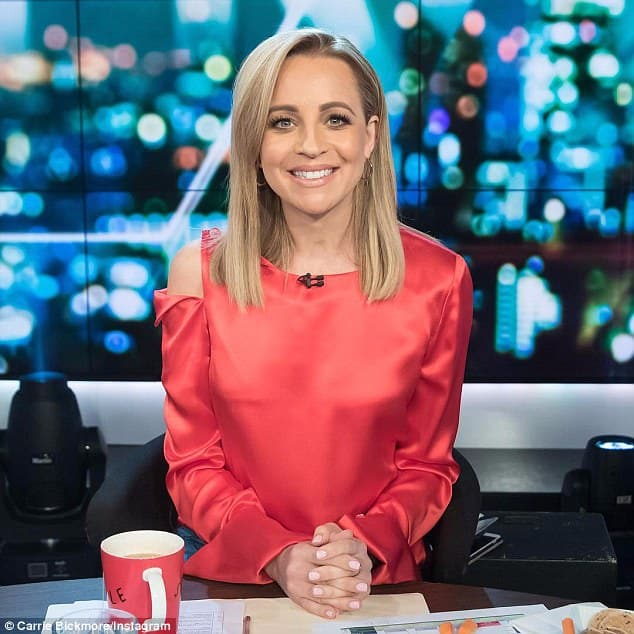 Carrie Bickmore Australian Television and Radio Presenter