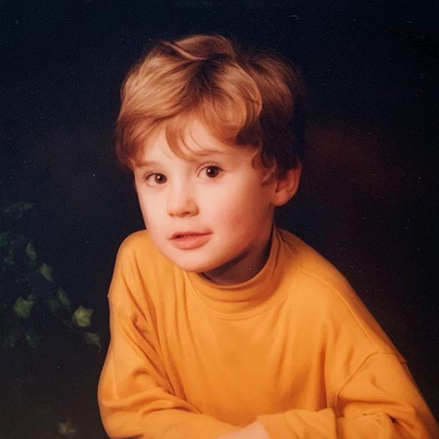 Dan Howell childhood pic