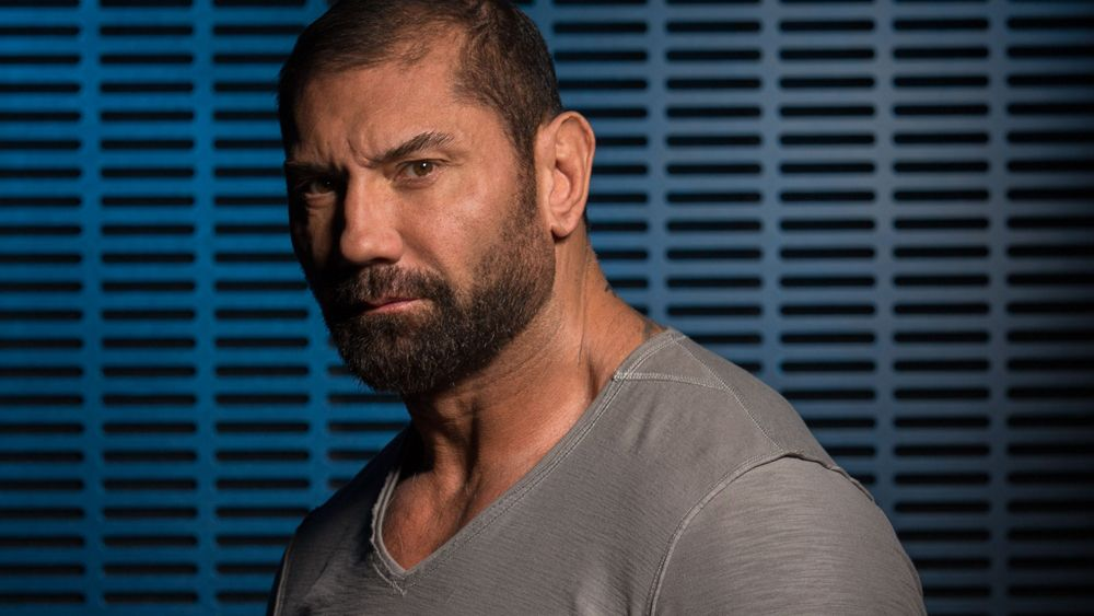 Dave Bautista American Actor, Retired Professional Wrestler, Former Mixed Martial Artist and Bodybuilder.