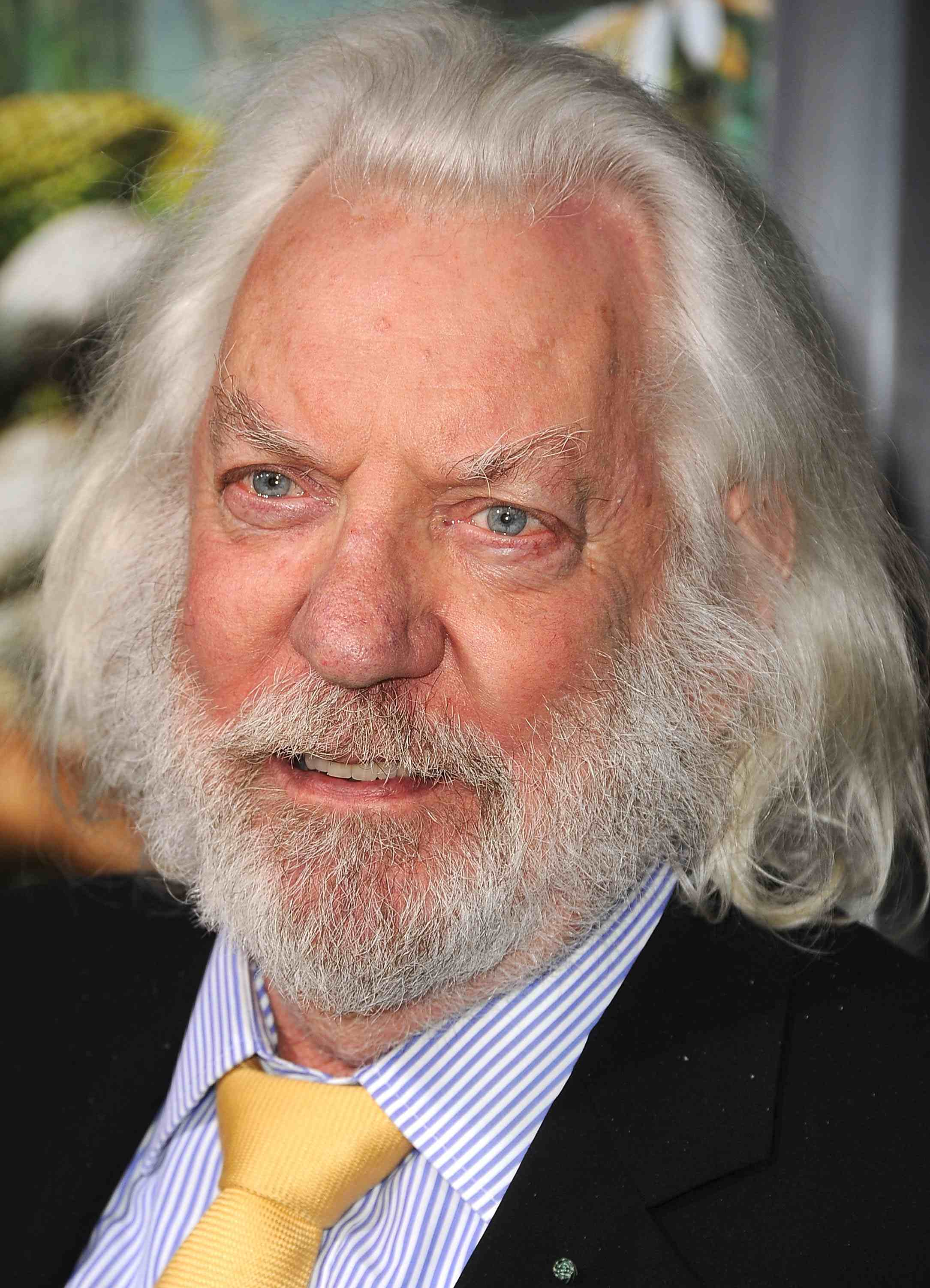 Donald Sutherland Canadian Actor