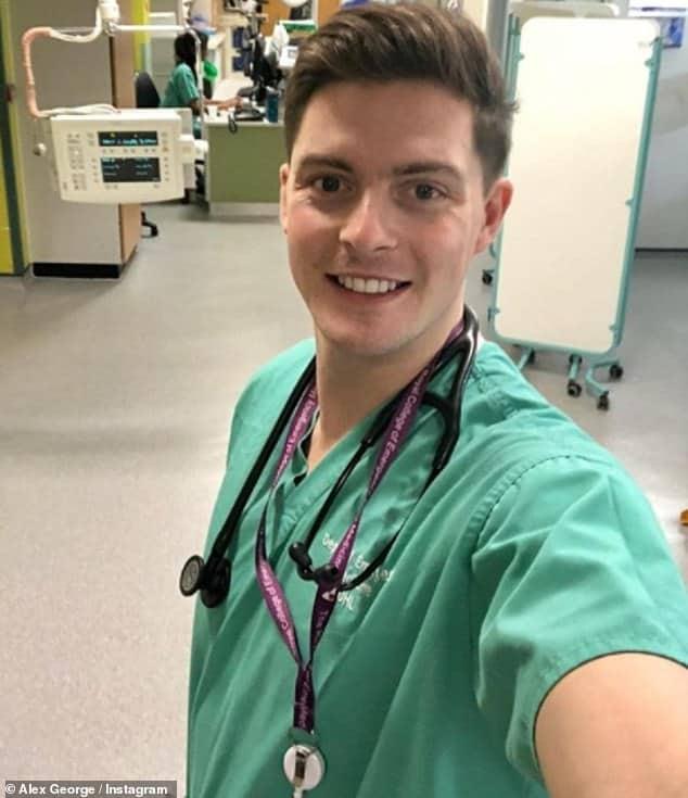 Dr. Alex George British A doctor at University Hospital Lewisham, Television Celebrity