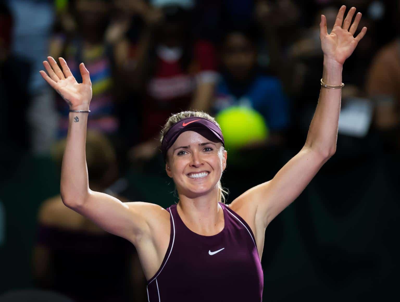 Elina Svitolina Ukrainian Tennis Player