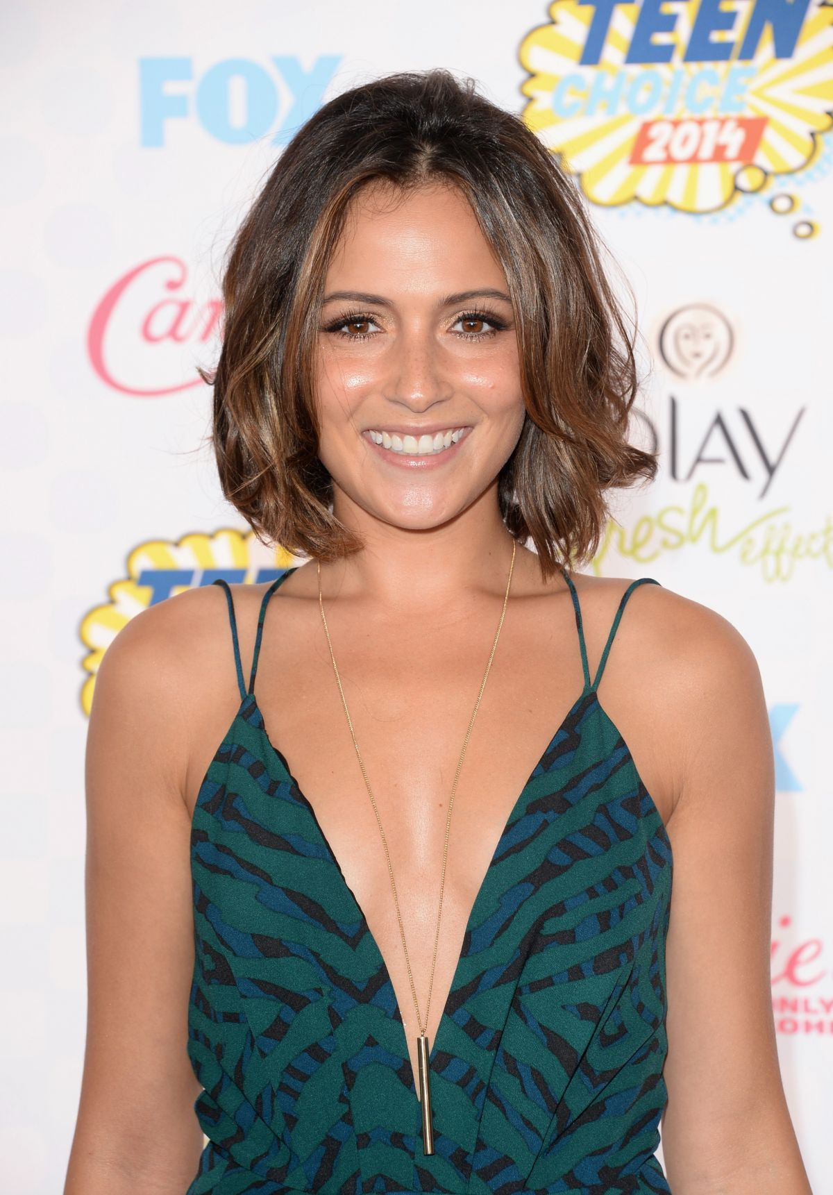 Italia Ricci Canadian Actress