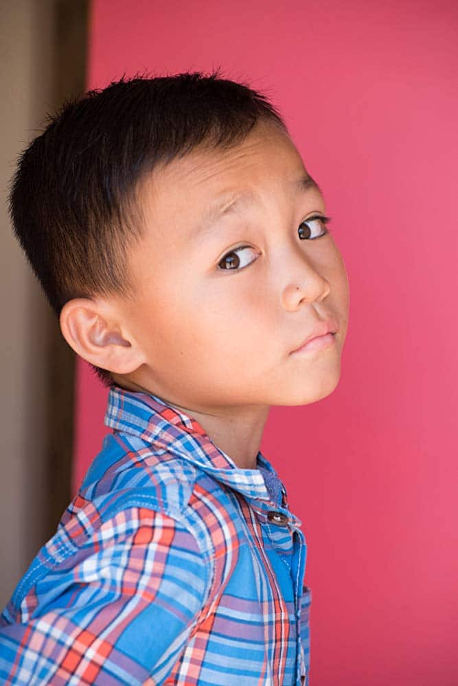 Izaac Wang Amarican Child Actor