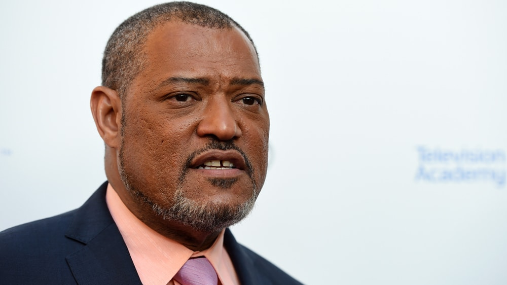 Laurence Fishburne face
