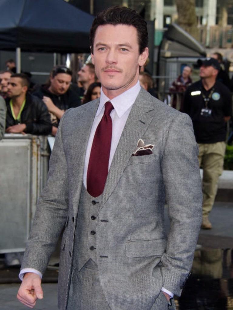 Luke Evans British Actor