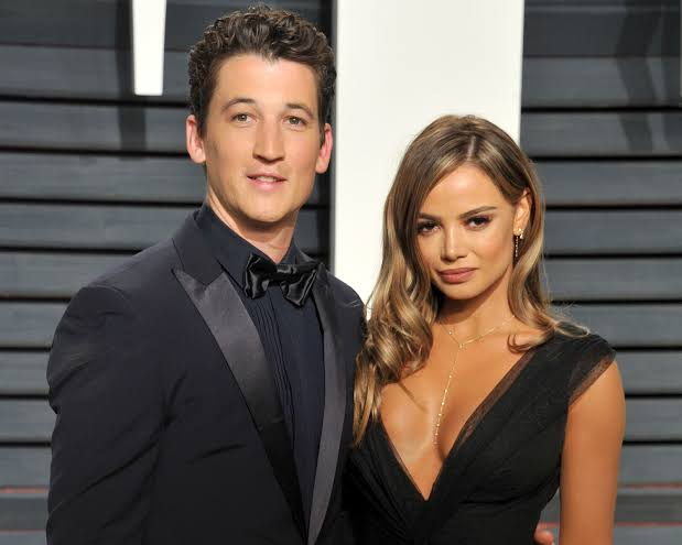 Miles Teller With Keleigh Sperry