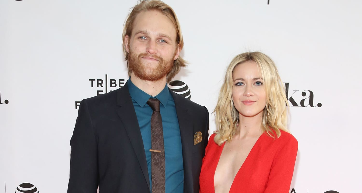 Wyatt Russell With Wife